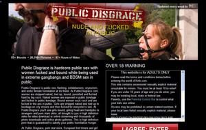 Public Disgrac