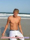 white-haired-amateur-guy-poses-topless-showing-his-skinny-torso-in-nature