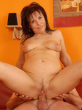 mature-brunette-with-neatly-shaved-pussy-strips-nude-then-gets-eaten-out-and-fucked