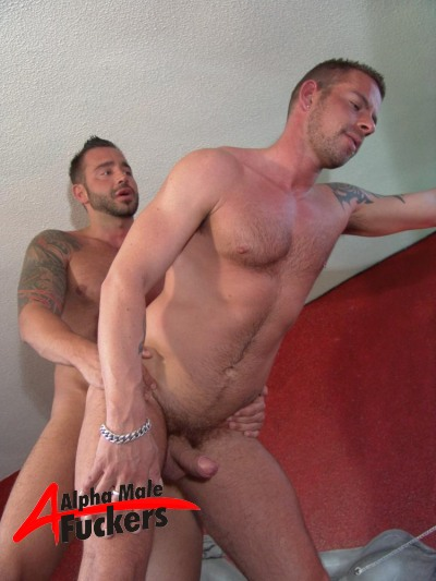 Gay Ass Banged By His Tattooed Friend