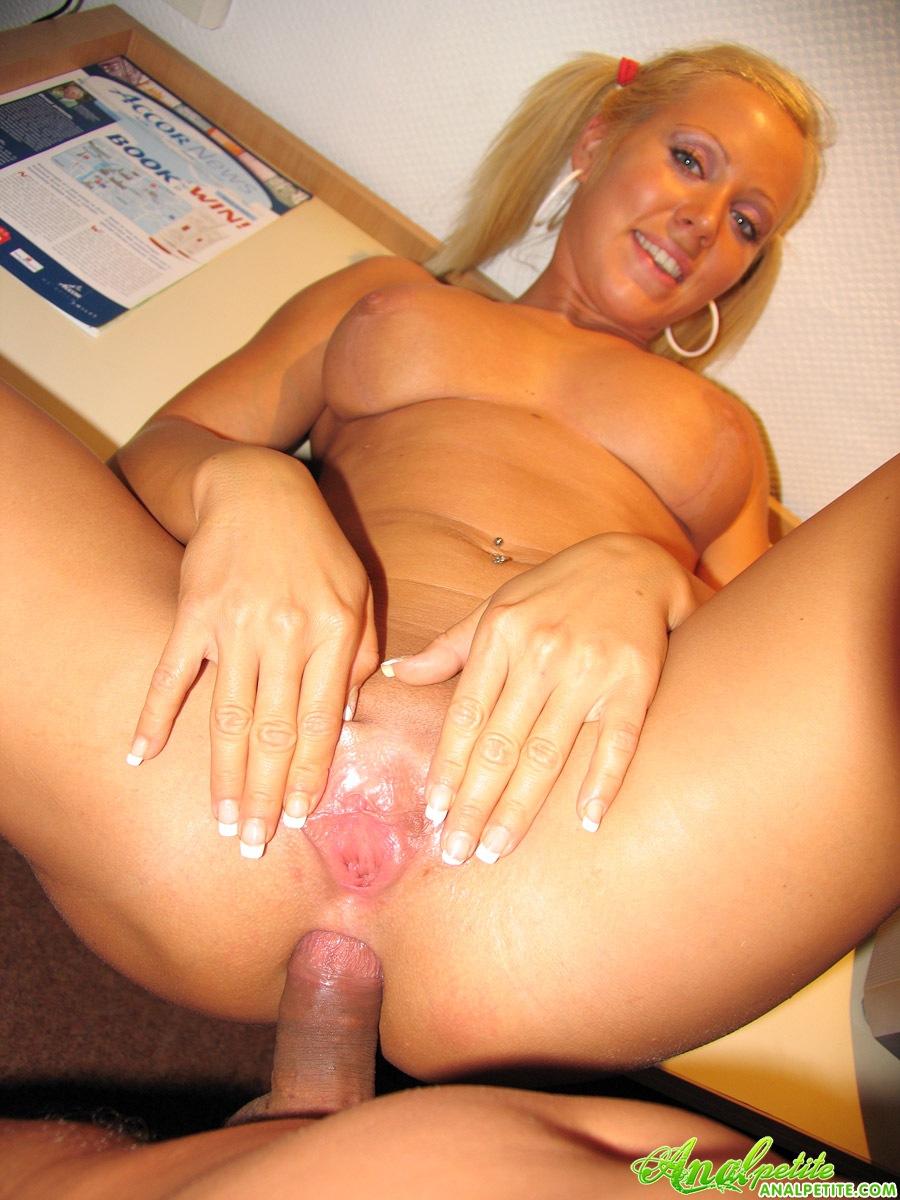 Blond Enjoying Black Dick