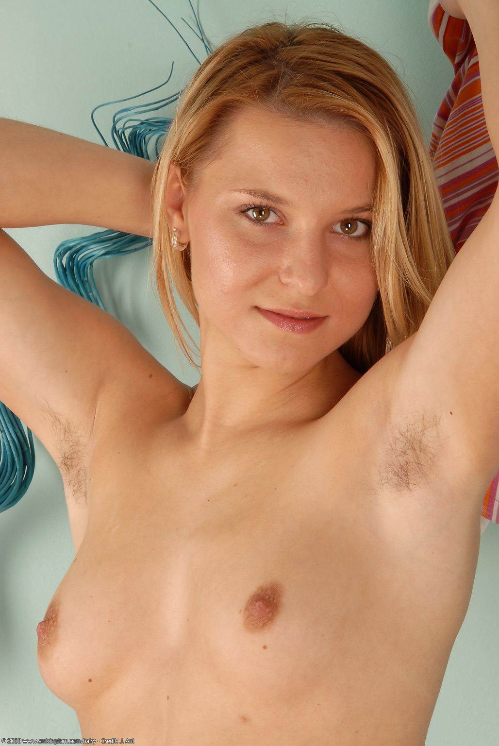 Teen Girl Hairy Armpits