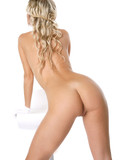 busty-blonde-stunner-poses-in-white-then-decides-to-show-her-private-parts