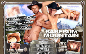 Gay cowboys having sex
