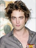 Charming actor Robert Pattinson topless, naked in bathtub and kissing a guy