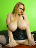 fat-blonde-dressed-in-black-shows-her-massive-tits-and-has-sex-with-slim-man