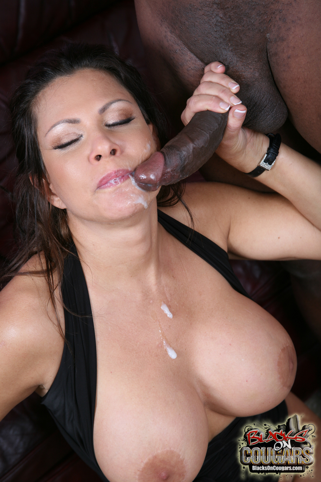 Cougar and black sex #2