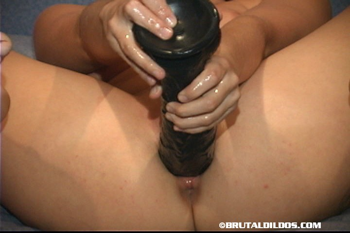 Chick videos friend black dildo