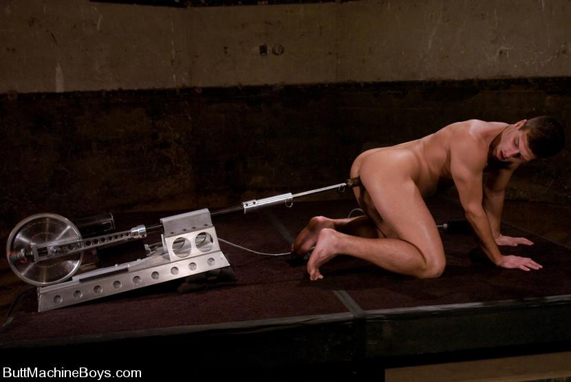 Gay dildo machine