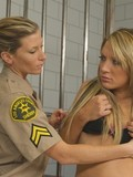 imprisoned-blonde-with-sexy-ass-takes-off-her-lingerie-and-gets-her-holes-checked