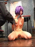purple-haired-girl-in-black-boots-gets-her-firm-ass-spanked-on-the-floor