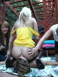 nude-shy-looking-dude-gets-spanked-and-fucked-by-three-curious-clothed-ladies