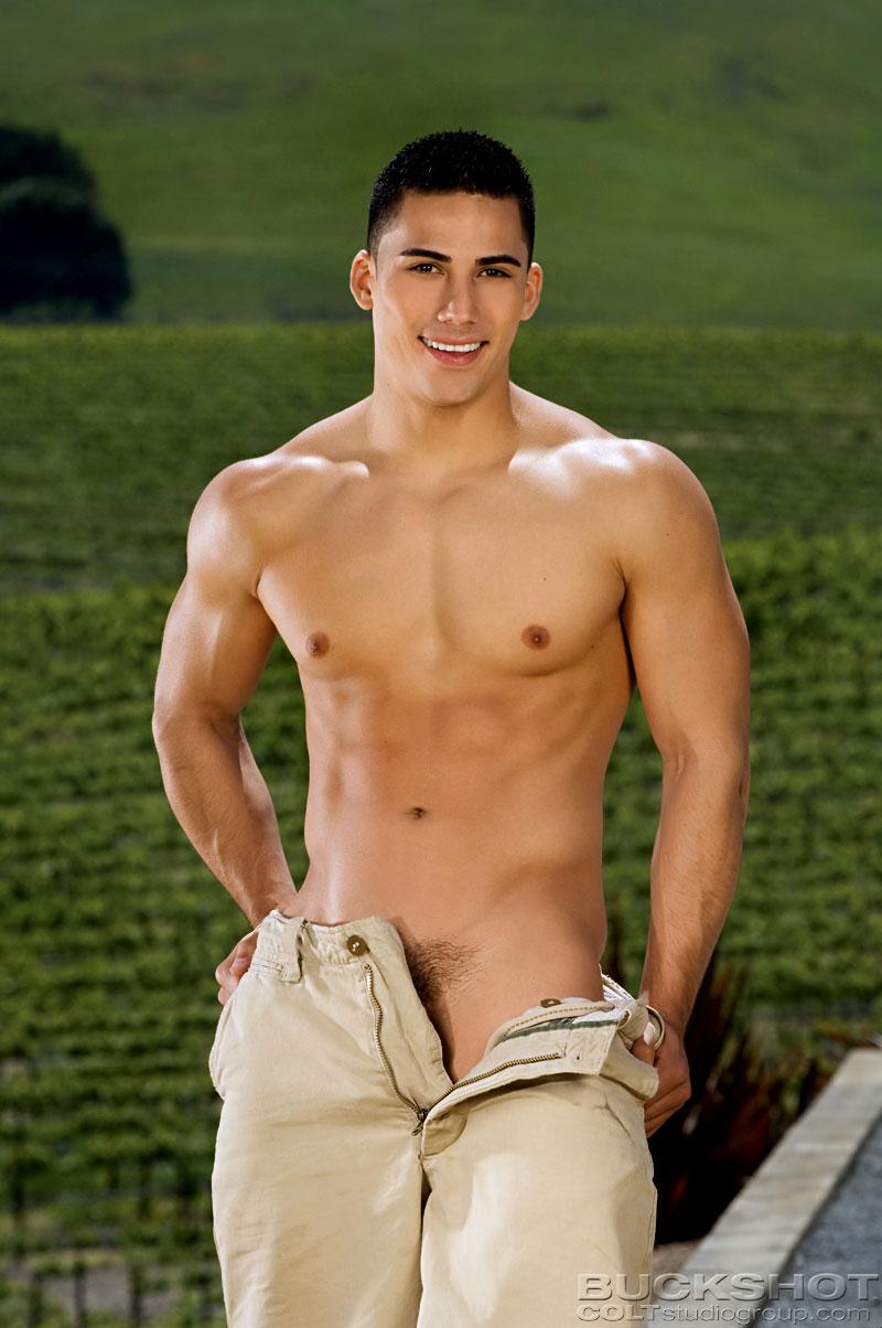 Hot guy strips naked