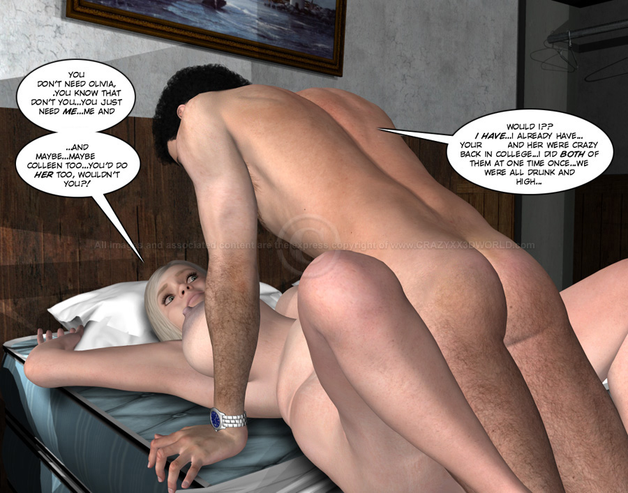 3d comic the chaperone episodes 108109 - 2 part 8