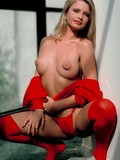 baring-her-chic-red-outfit-gorgeous-blonde-jazz-shows-her-puffy-nipples-and-sticking-tits