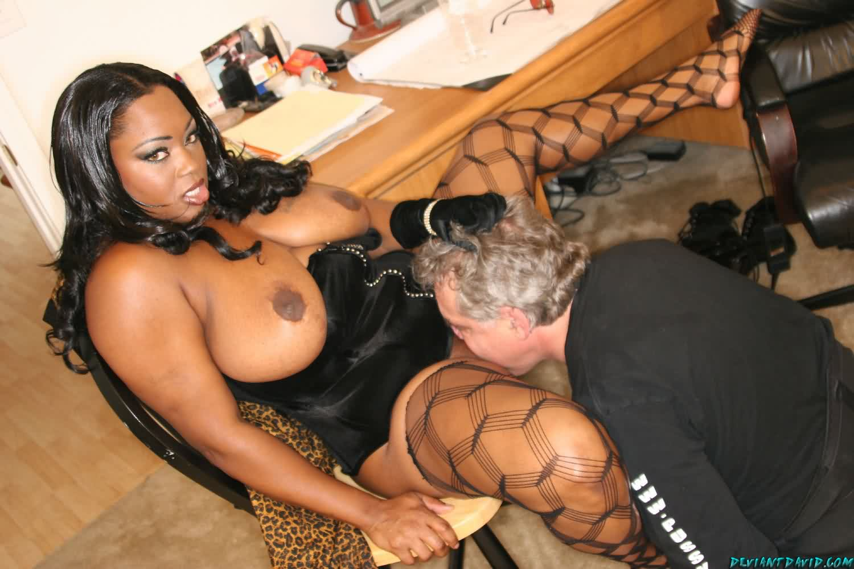 Black mistress enjoys dominating three helpless white girls 4
