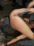 slave-brunette-with-tiny-pierced-nipples-gets-her-pussy-vibrated-and-strapon-fucked-by-hot-domina
