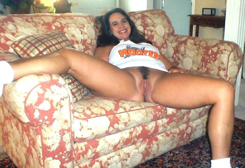 Hooter girls posing nude