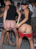 drunk-party-girlfriends-flash-their-asses-then-lick-each-others-bald-snatches