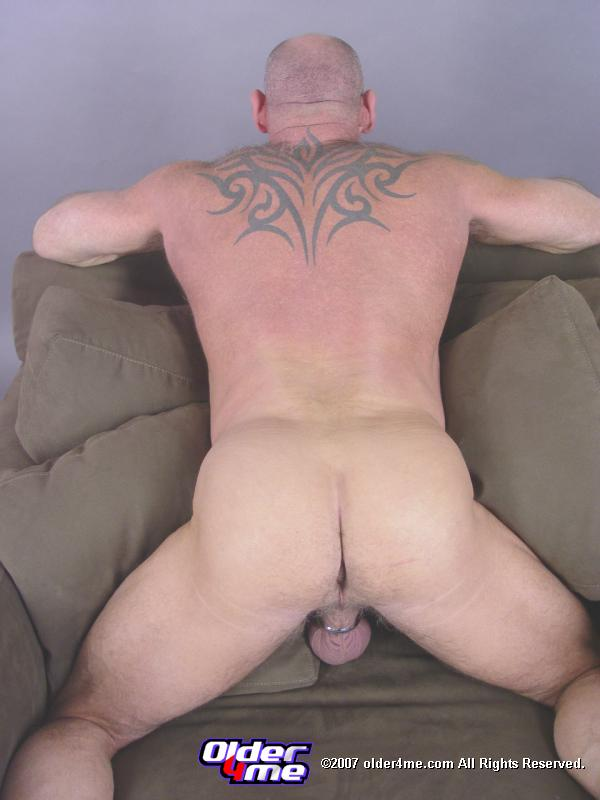 hairy middle aged man naked