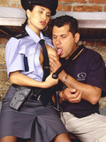 horny-european-brunette-in-police-uniform-and-stockings-gets-her-pink-cunt-stuffed