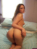 leggy-small-titted-girlfriend-poses-in-her-bare-skin-then-shoves-red-toy-in-her-hairless-pussy