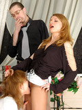 two-slutty-ladies-in-pantyhose-have-sex-with-their-hot-four-eyed-co-worker