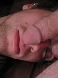 Lucky gay guy has fun with juicy sweet cock of his sleeping unsuspecting buddy