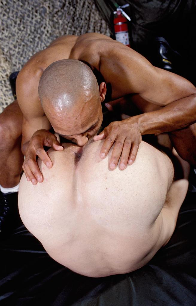 Gay Man Bent Over Naked