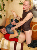 boy-in-blue-jeans-and-red-t-shirt-gets-fucked-from-behind-by-rude-white-haired-gay