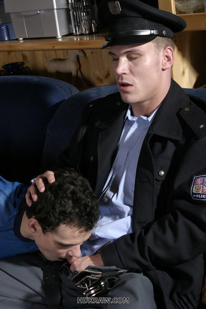 Handsome gay police porn illegal bike 7