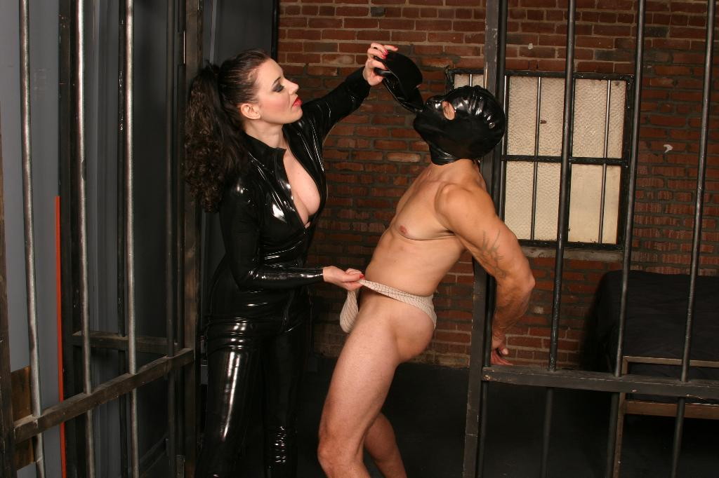 video clad dommes punish