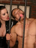 perfectly-sculptured-man-gets-mercilessly-punished-by-latex-clad-mistress