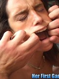 brunette-gets-her-holes-stretched-with-fat-cocks-and-eats-cum-during-her-first-gangbang