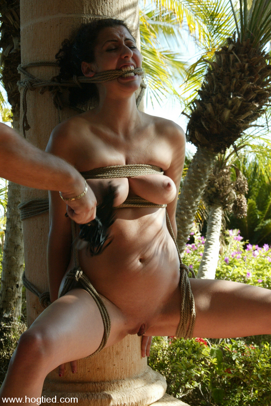 Women naked outside tied up porn galleries