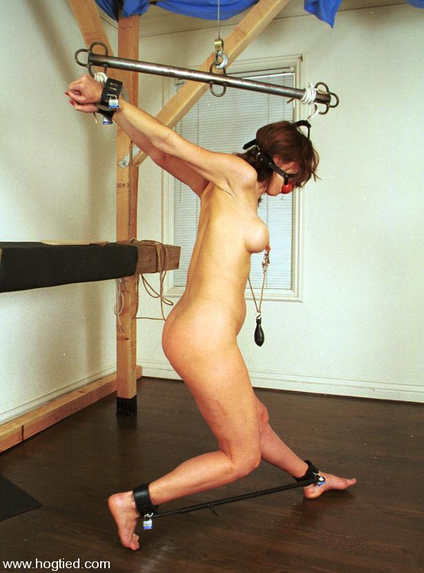 Helpless slaves get to bone their masters 9