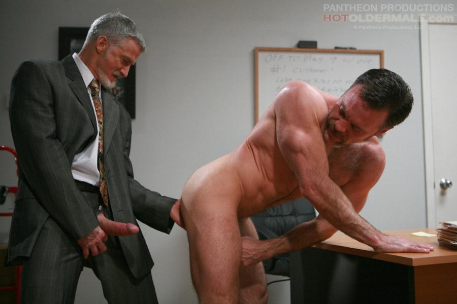 Older gray gay men naked