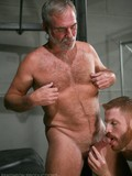 aged-silver-hair-gay-man-with-a-beard-and-hairy-chest-strips-nude-and-gets-his-dick-licked