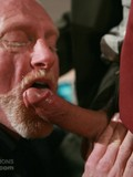 Aged office man and his gay co-worker suck each other before they fuck