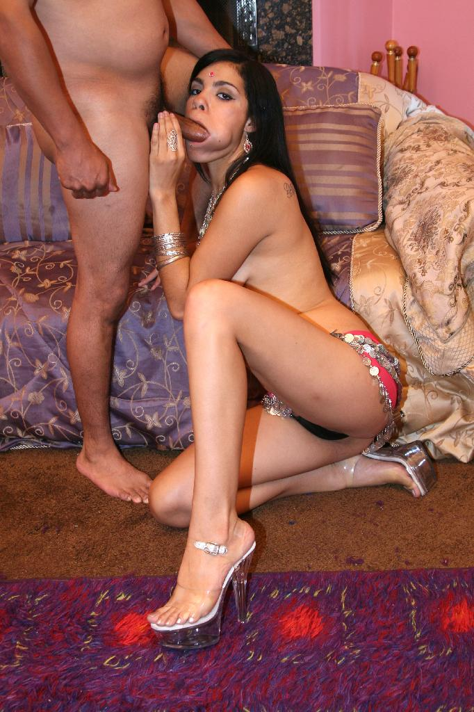 Horny indian hooker with saggy tits gets impaled on heavy dick and begs for  one more meat stick