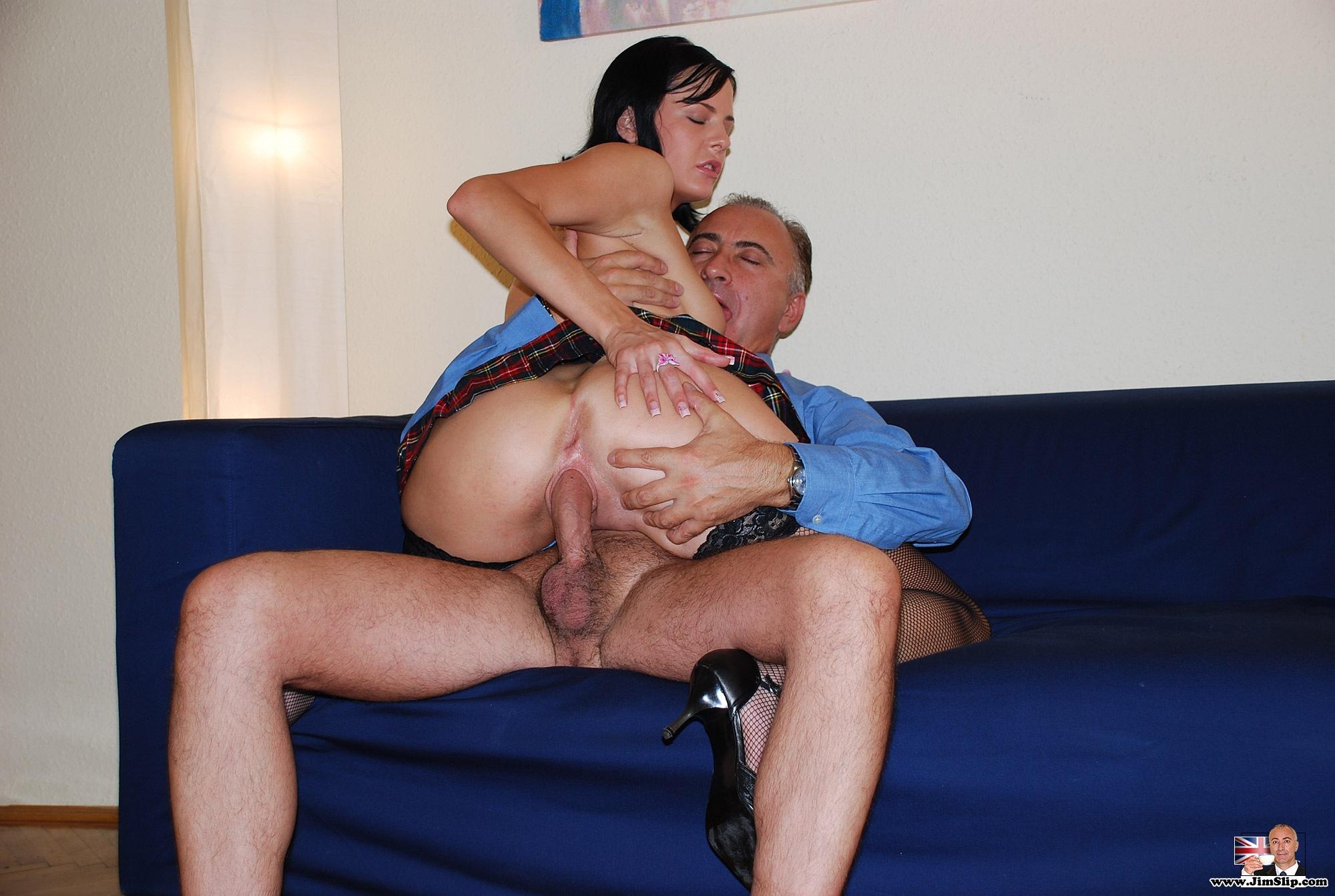 Slutty english girl gets a dp - 3 4