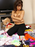 baring-her-cute-top-sexy-brunette-teen-kayla-shows-her-sexy-tits-with-brown-nipples