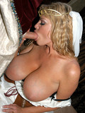Big meloned medieval princess Kelly Madison sucks and fucks with desire