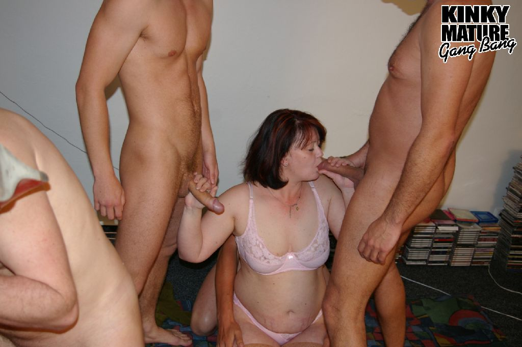 Masked dudes with rock hard love sticks give much pleasure to nasty mature  women
