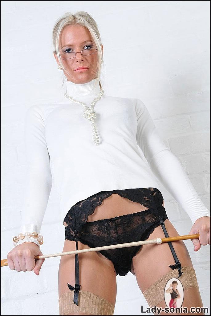 Lady Sonia Stockings Blonde Ebony