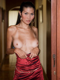 glamorous-tall-ladyboy-strips-out-of-her-luxury-dress-and-thong-in-the-doorway