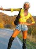 unable-to-hitch-hike-a-car-naughty-blonde-lily-in-a-wig-starts-stripping-her-clothes