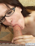nude-brunette-in-glasses-eats-guy-s-sweet-sperm-on-her-knees-in-the-middle-of-the-room