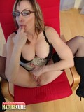four-eyed-mature-lady-tastes-her-fingers-after-fingering-her-moist-pussy