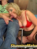 slutty-blonde-milf-in-red-lingerie-and-black-stockings-sucks-and-rides-young-cock